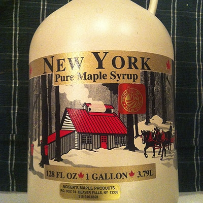 Maple Syrup Can Logo
